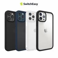 【SwitchEasy 美國魚骨】AERO Plus 6.7吋 iPhone 12 Pro Max(超薄霧面軍規防摔保護殼)