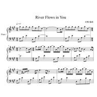 《River Flows in You》暮光之城主題曲/鋼琴譜/Piano sheets