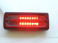 大禾自動車 賓士BENZ G-class W463 G500 G550 G55 LED後燈 尾燈 電框 紅黑