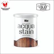 [BISA COD] Cat Kayu Waterbased Acqua Stain Milan Coating Wood Stain Plitur Kayu DISKON