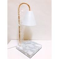 ·薛莉香氛·方形大理石暖燈 韓國設計 蠟燭暖燈 檯燈 香氛 暖燈