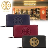 Qoo10 coupon can be used ♪ TORY BURCH ☆ CHARLIE ZIP CONTINENTAL WALLET