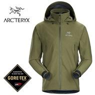 【ARCTERYX 始祖鳥 加拿大】Beta AR 透氣防水外套 風雨衣 防水夾克 登山健行 男款 喬木綠 (L07311000)