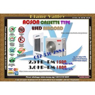 2.5HP & 3.0HP Acson Cassette Type Used Aircond AC6369
