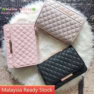 MY Ready Stock🔥Charles and Keith Quilted Shoulder Bag Women's Handbag CNK Sling Bag CK2-20840075