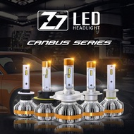 Z7 Led Headlight Bulbs H1 H3 H7 H4 9005 120W 12000LM Turbo Fan Cool White 6500k