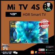Xiaomi Mi Smart TV 43 Inch 4S Global Version 4K Display