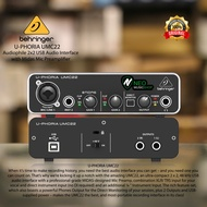 Behringer Umc22 (umc 22) Audio Interface Soundcard W / Midas Preamp