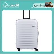 JandM กระเป๋าเดินทาง Alto Medium รุ่น LJ-CF1571-2 สีเทา ขนาด 24 นิ้ว ส่งkerry