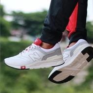 現貨 iShoes正品 New Balance 997H 男鞋 白 紅 皮革 復古 休閒 小白鞋 CM997HGA D