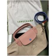 LONGCHAMP 特製款小羊皮包