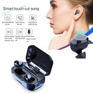 【Sv】TWS-G02 LED Display Binaural Smart Bluetooth 5.0 Wireless Handsfree Headset