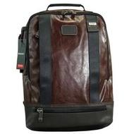 正品新款原廠 TUMI/途米 JK487 男女款 商務電腦包後背包 時尚休閒雙肩包 大容量旅行運動背包 牛皮真皮