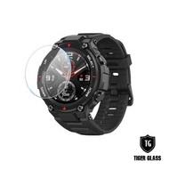 【T.G】華米 Amazfit T-Rex 鋼化玻璃保護貼-滿版(華米專用 手錶保護貼 手錶鋼化膜)