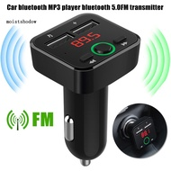 MISD Bluetooth 5.0 Hands-free Call Dual USB Charging Car MP3 Player FM Transmitter
