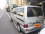2004年 福斯 T4 VR6 2.8 進口七人座商務車,可適合做露營車。 0958-732-878