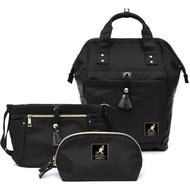 【現貨正品】英國KANGOL 80周年限定後背包  超值組   後背包、側背包、零錢包