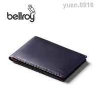 ∏爆款Bellroy澳洲進口Travel Wallet旅行護照錢夾真牛皮RFID防盜刷錢包