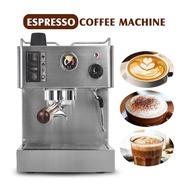 ITOP เครื่องชงกาแฟเอสเปรสโซกึ่งอัตโนมัติ,เครื่องทำกาแฟสเตนเลสสตีล1050สำหรับลาเต้อิตาลีขนาด3.5L W