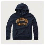 【Abercrombie&Fitch長袖連帽T恤】☆【AF012N8】(M)