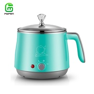 Mamon Electric Cook Pot, Egg Cooker, SUS 304 Stainless Steel Hot Pot With  Stainless Steel Rack 500W 1.5L DZG17