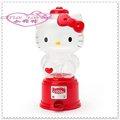 小花花日本精品 Hello Kitty 造型扭蛋機 存錢筒 樸滿 派對必備 聖誕節禮物 紅色坐姿50113606