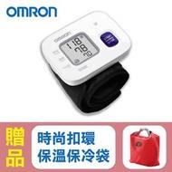 【來電享優惠】歐姆龍OMRON 手腕式血壓計 HEM-6161,贈品:時尚扣環保溫保冷袋x1