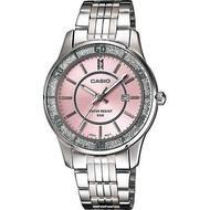 Casio นาฬิกาข้อมือผู้หญิง หน้าปัดกากเพชร สายสแตนเลส รุ่น LTP-1358 ของแท้ประกันศูนย์