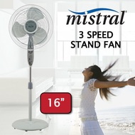 MISTRAL MSF1648 16Inch Stand Fan / With Adjustable height