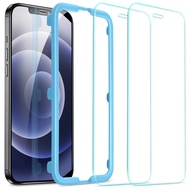 ESR Screen Protector for iPhone 12 mini/iPhone 12/12 Pro Max Glass Screen Protector Full Cover Tempered Glass for iPhone 12 Mini 12pro 12 Pro Max Screen Protective Film