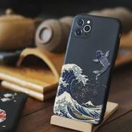 สำหรับ Iphone 12 11 Pro Max 7 8 6 S 6 S Plus น่ารัก3D Wave สำหรับ Fundas iphone SE 2020 X XR XS Max 5 S 5 S Apple โทรศัพท์กรณี