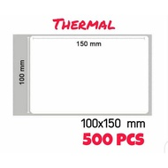 Label Thermal 100x150 mm / Label Sticker Thermal 100x150 mm / Label Direct Thermal Online Shop