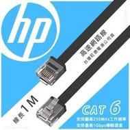 1米〈HP 超速網路線〉扁線設計 Network Cable Cat6 網路線 網路傳輸線 路由線【饅頭小舖】P12