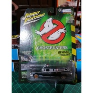 Johnny Lightning 1959 Cadillac Ghostbusters Revised Tooling rubber tires diecast metal 1:64
