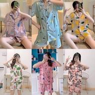 Trendy Pajama Sleepwear Shorts Set for Women