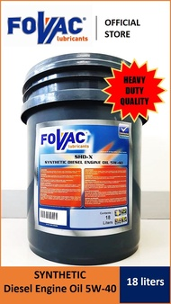 Fovac SHD-X Synthetic Diesel Engine Oil 5W-40 [18 liters]