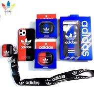 『阿迪達斯』現貨> AirPods保護套 Adidas愛迪達手機殼 全包防摔耳機套 蘋果耳機AirPods Pro保護套