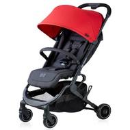 德國 ABC Design Pupair 可登機/半自動秒收手推車-莓果紅( 送-肩背帶+ 蚊帳/雨罩 [隨機送] )
