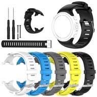 桑德Suunto D4 D4i Novo潛水電腦表矽膠更換錶帶錶帶