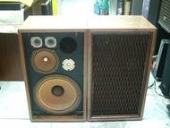 古董 KENWOOD KL-5080 12吋5單體 全部天然磁鐵 古典喇叭 箱體重貼木皮 花了7千元 品像很漂亮