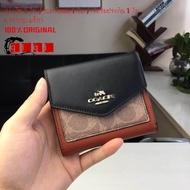 New Coach F31548 / F27252 / F12123 กระเป๋าสตางค์ใบสั้น / กระเป๋าใส่การ์ด / กระเป๋าใส่เหรียญ / กระเป๋าสตางค์แบบพับ / กระเป๋าใส่เหรียญ / กระเป๋าสตางค์คาดเอว / กระเป๋าสตางค์สามพับ
