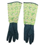 園藝手套/刺狀修枝手套,用於園藝的長袖聚酯印花袖套,防護,耐刺