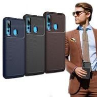 爵士焦點 華為 HUAWEI nova 4e 碳纖維防指紋軟式手機殼