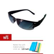 DAKIN แว่นตากันแดด รุ่น LJ001 Polarized  Free glasses case glasses cloth ( Blue )AKIN แว่นตากันแดด รุ่น LJ001 Polarized