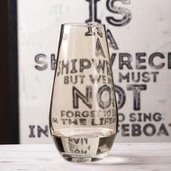 大號桃心杯養殖玻璃花瓶插花高腳酒杯式魚缸酒杯花卉透明