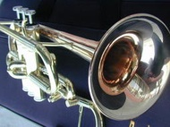 Berkeley Slight Lighter Eb & D Trumpet (Gold Brass)