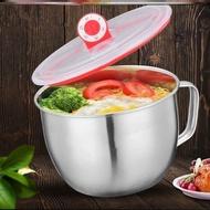 不鏽鋼 泡麵碗【好買居家】1400ml 304不鏽鋼附蓋泡麵碗 大容量 不鏽鋼泡麵碗 防燙泡麵碗 隔熱碗 保鮮碗