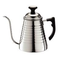 金時代書香咖啡  TIAMO 優質不鏽鋼細口壺 附溫度計款 700ml SGS檢測合格  HA1639