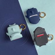 Elago Apple AirPods 造型扣環保護套 鯊魚款 一二代適用 多色任選【LifeTech】
