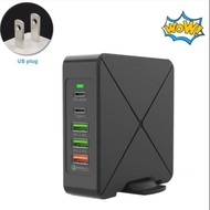 With Power Adapter Multi Port Type C Laptop Station Portable Travel Mobile